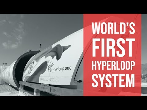 Hyperloop One In India || First Country To Have a Hyperloop