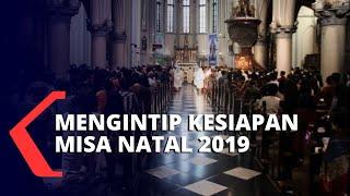 5.000 Umat Katolik Ikuti Misa Natal di Gereja Katedral