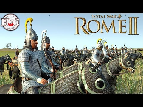 Armenia Vs Ardiaei - Total War Rome 2 Online Battle Video 399