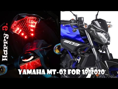 Yamaha MT-03 for 2020