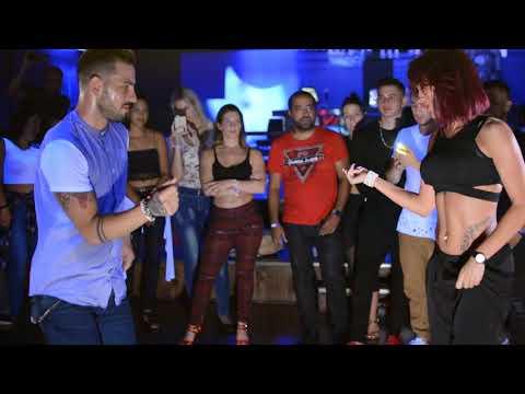 Daniel and Desiree social dancing at Montreal Bachata Sensual Nights 2017