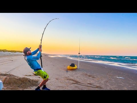 Texas Shark Fishing - A Simple Game Decides Who Gets A HUGE Fish