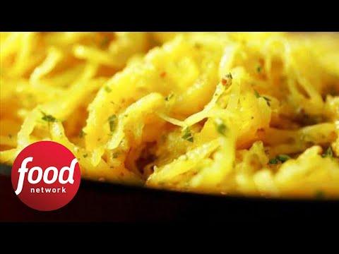 How to Make Damaris' Parsley Pesto Spaghetti Squash | Food Network
