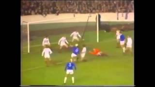 1971 Everton vs Keflavik 6-2