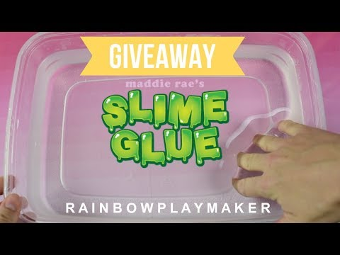THE BEST GLUE FOR CLEAR SLIMES! TESTING MADDIE RAE'S SLIME SUPPLY!  MAKING ALL KINDS OF DIY SLIMES!