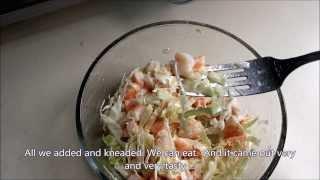 Диетический салат для всех.Dietary salad for everyone.