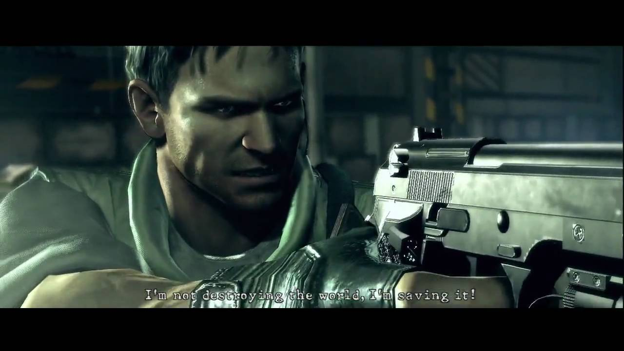 Resident Evil 5 Wesker Final Boss Fight Part 1 Hd Youtube