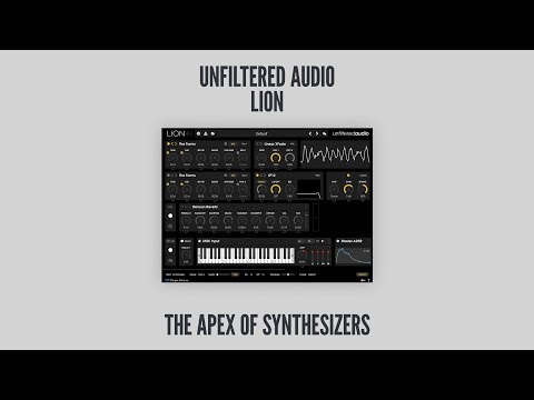 "Unfiltered Audio's Lion plugin aims to be ""king of the synthesis jungle"" 