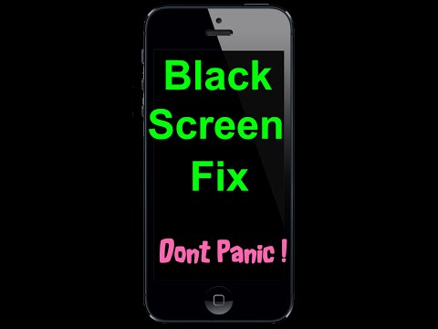 HOW TO FIX REPAIR AN IPHONE BLACK UNRESPONSIVE SCREEN. Step by step guide. Gen 4 4s