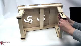 Складной столик для ноутбука в кровать
