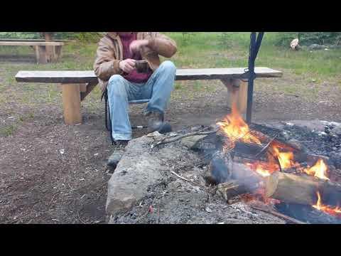 Schlaflos am Lagerfeuer - Outdoor