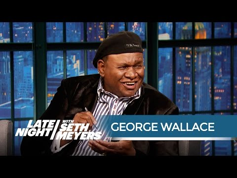 George Wallace's Epic Road Trip with Jerry Seinfeld  Late Night with Seth Meyers