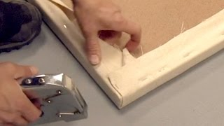 How To Stretch A Canvas For Cheap