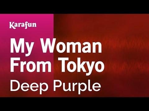 Karaoke My Woman From Tokyo - Deep Purple *