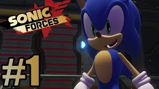 Sonic Forces Gameplay Walkthrough Part 1 - PS4 Pro / No Commentary