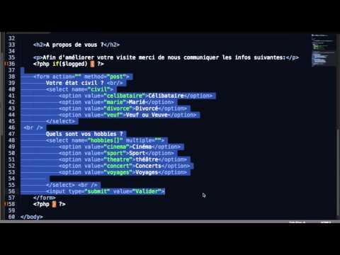 Les cookies. Interagir avec le visiteur , initiation PHP & MySql