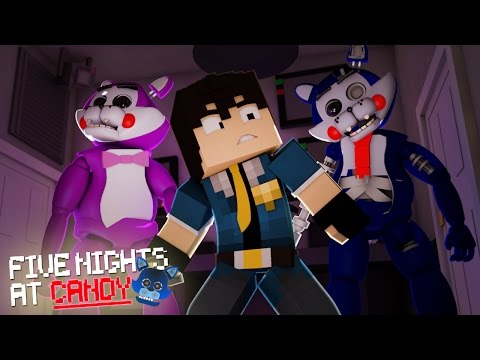Minecraft: FIVE NIGHTS AT CANDY'S - ELES ESTÃO VIVOS #02