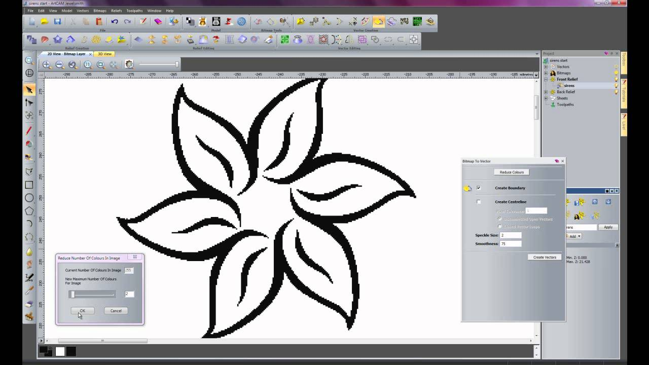 Creating 3d cnc signage in artcam pro 2011 youtube for Make 3d design online
