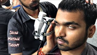 The Great Indian Head Massage Therapy | Part 2 | ASMR | PUREMASSAGEWORLD
