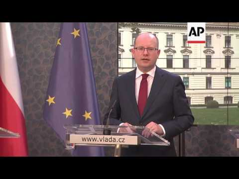 Czech PM Sobotka reacts to Brexit