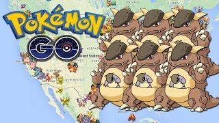 Nido de Kangaskhan Sale Cada Minuto No lo Dejes Escapar - Pokemon GO