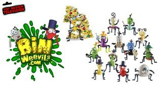 Bin Weevils Posh Action Figure Single Pack Review Unboxing
