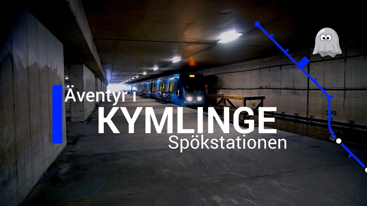 Äventyr i Tunnelbanan del 8: Kymlinge (spökstationen)