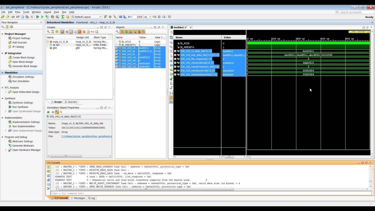 Creating an AXI Peripheral in Vivado