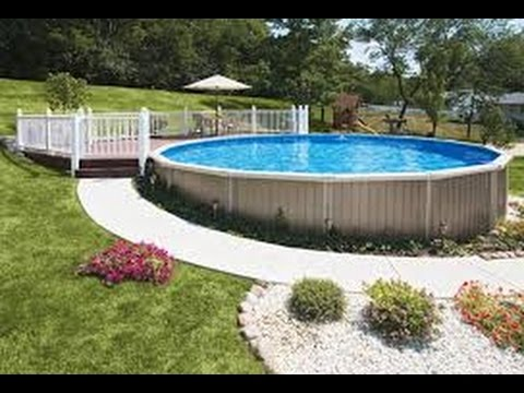 5 types of above ground pools youtube - Images of above ground pools ...