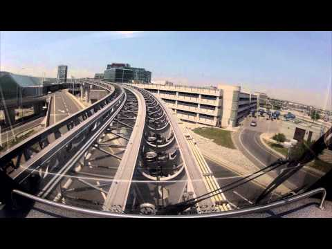 Toronto airport's cable car