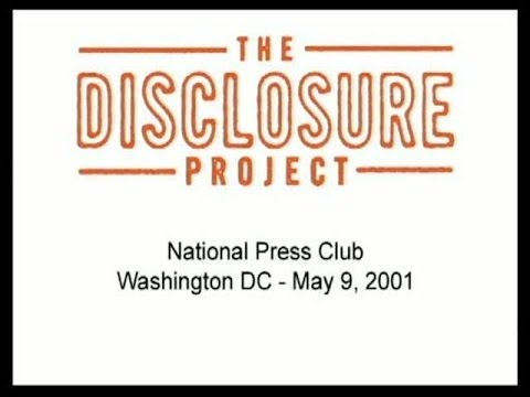 The Disclosure Project - National Press Club 2001 - 720p HD