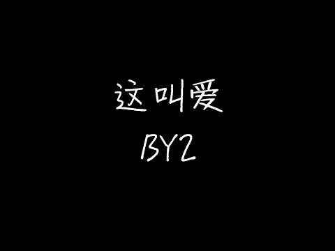By2 这叫爱 Remix Version 动态歌词