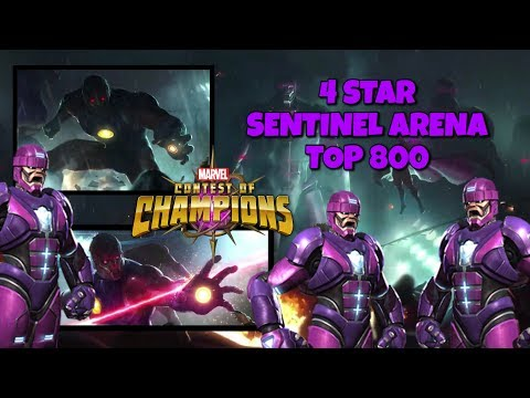 Sentinel Arena Top 800 | Marvel Contest Of Champions
