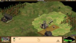 Age of Empires 2 HD Edition [HD - 1080p] - 2vs2 Gameplay