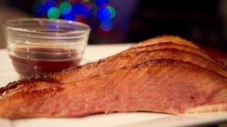 Smoked Ham With Cranberry-orange Glaze Recipe