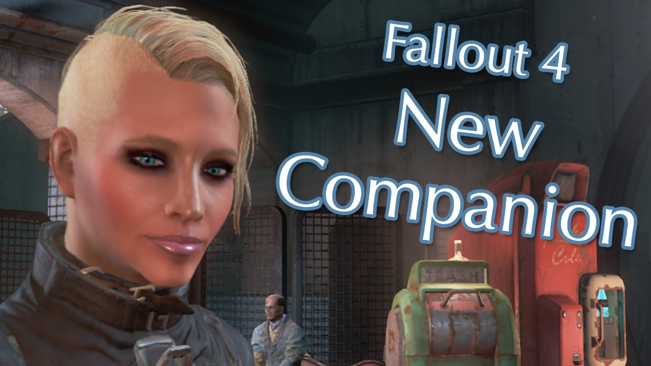New Fallout 4 Companion: Fully Voiced Character Mod Preview