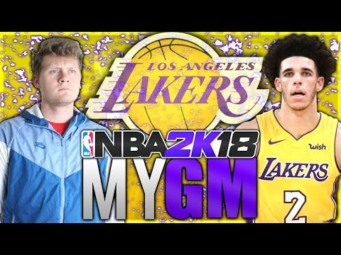 THINGS ARE STARTING TO GET WEIRD! NBA 2K18 LOS ANGELES LAKERS MyGM#3