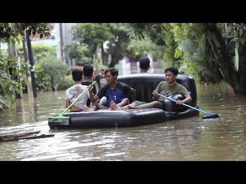 Inundações na Indonésia: 21 mortos confirmados