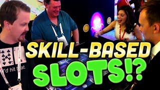Playing Skill Based Slots at G2E Global Gaming Expo in Las Vegas! | Vlog 46