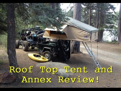 Vehicle Roof Top Tent Review! Tuff Stuff Overland With Annex & Vehicle Roof Top Tent Review! Tuff Stuff Overland With Annex - YouTube