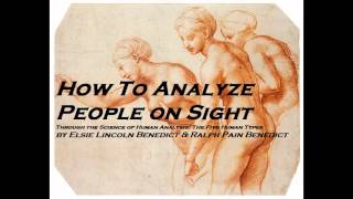 Free Audio Books HOW TO ANALYZE PEOPLE ON SIGHT   FULL AudioBook