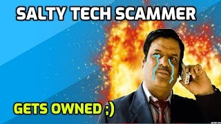 Salty Indian Tech Support Scammer Owned! thumbnail