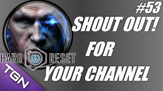 Shout out for your channel #53: Hard Reset gameplay! (PC gameplay-commentary)