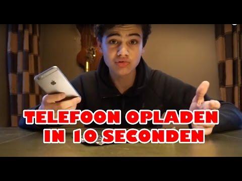TELEFOON OPLADEN IN 10 SECONDEN!!