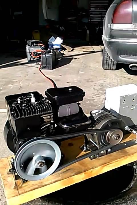 Engine alternator running part-3 DIY 12V 12 volt DC ...