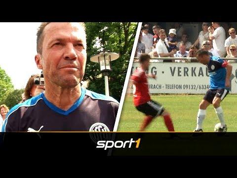 Comeback mit 57! Lothar Matthäus zaubert wie früher | SPORT1
