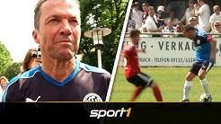 Comeback mit 57! Lothar Matthäus zaubert wie früher   SPORT1