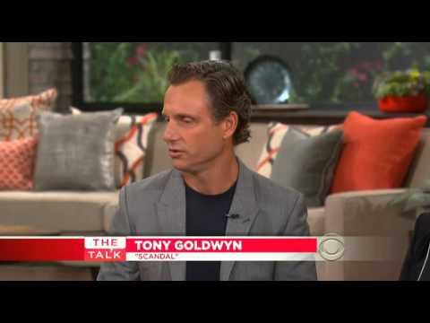 Tony Goldwyn on The Talk 14 08 14