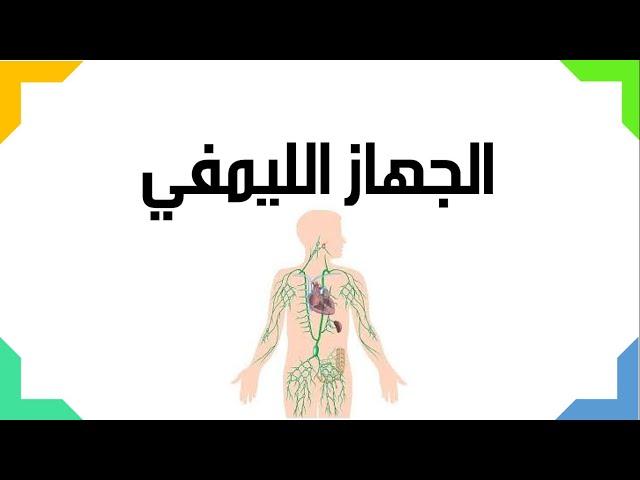 الجهاز الليمفي- العلوم والحياة - الصف التاسع الأساسي - المنهاج الفلسطيني الجديد 2018