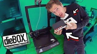 Die ersten 3D Drucke!